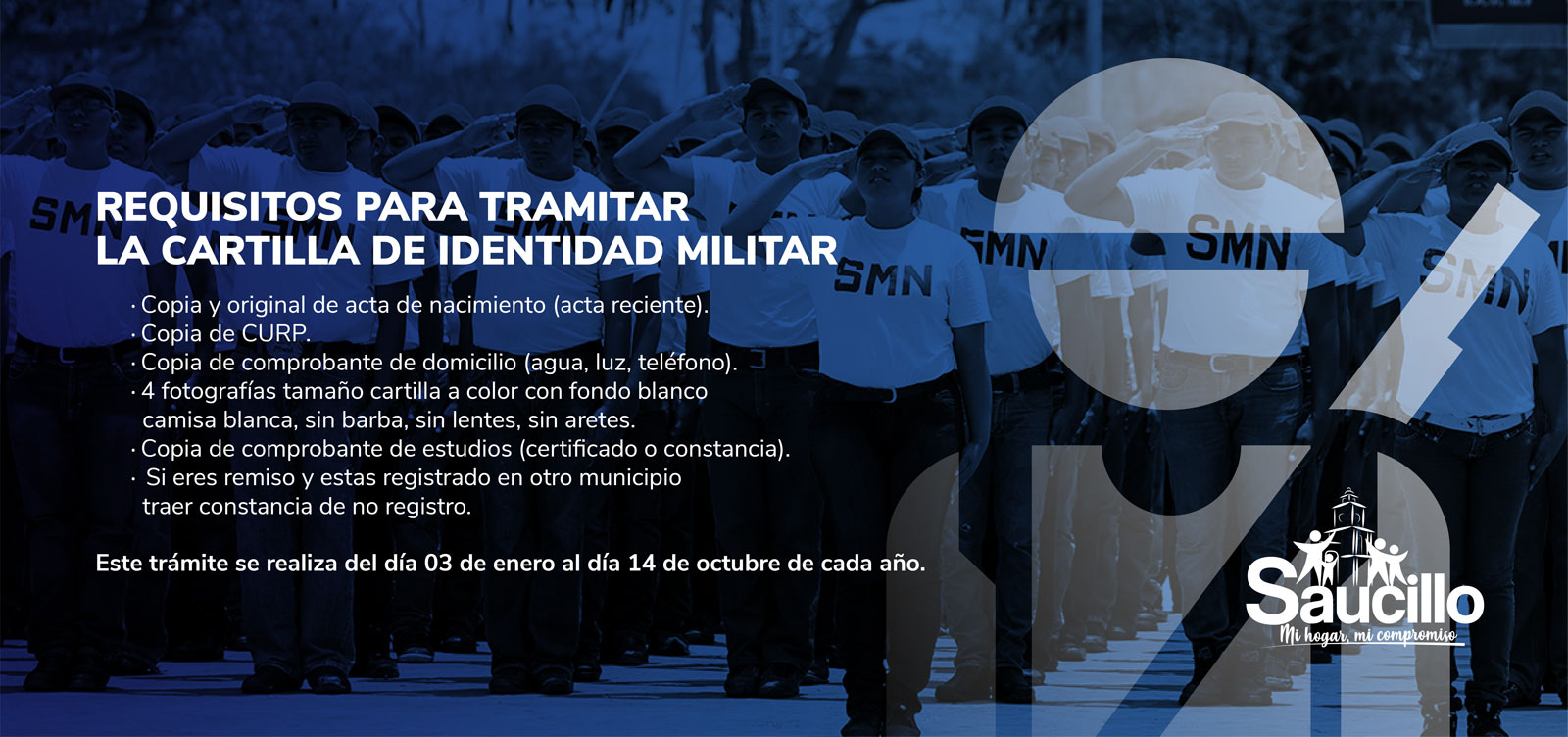 Requisitos para tramitar la cartilla de identidad militar
